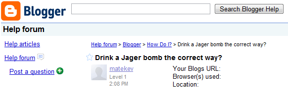 What IS the correct way to drink a Jager bomb?
