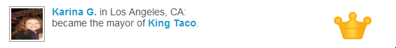 Supreme executive power derives from a mandate of the masses, not a carne asada taco.