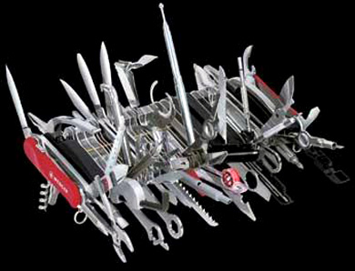 A monster Swiss Army Knife.