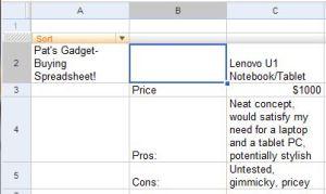 My cost-benefit analysis on the Lenovo U1.